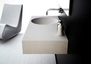 Neo 1000 Bathroom Basin Offset Bowl