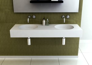 Neo 1400 Double Bathroom Basin