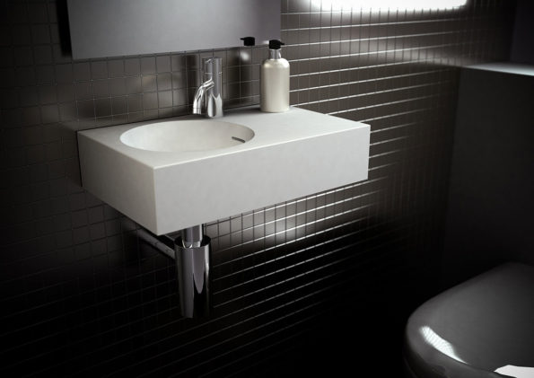 Omvivo Neo Mini Wall Basin