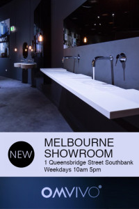 Omvivo's New Showroom, 1 Queensberry Street Southbank