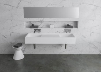 Bathroom Basin CDesign 1330 Double