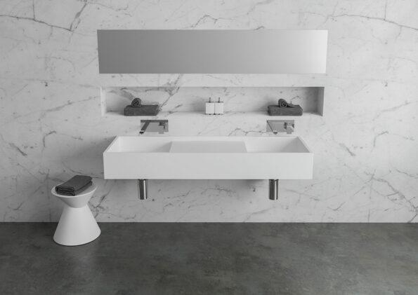 Bathroom Basin CDesign 1330 Double