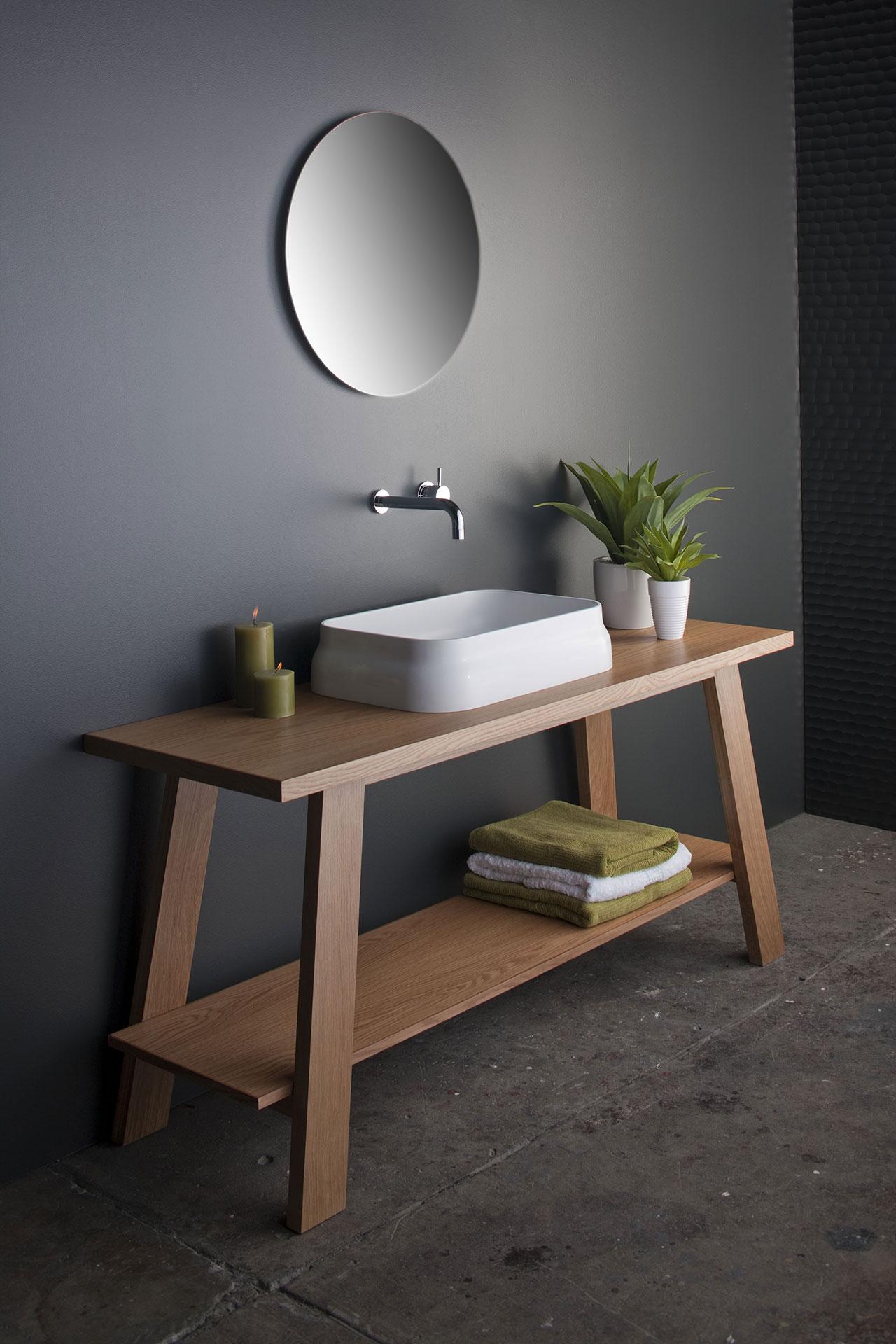 Omvivo Latis Rectangular Basin Luxury Solid Surface Basins