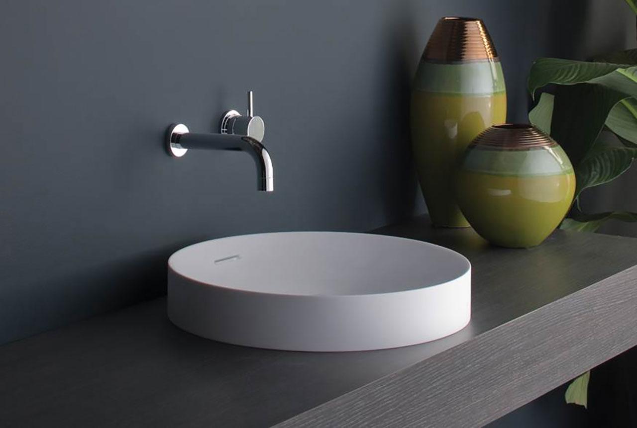 Omvivo Mono Basin Luxury Solid Surface Basins Amp Baths