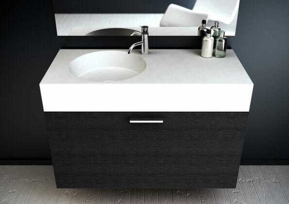 Neo 1000 Bathroom Basin and Cabinet