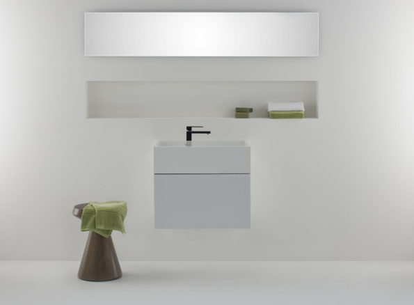 Omvivo CDesign 620 Basin with Cabinet