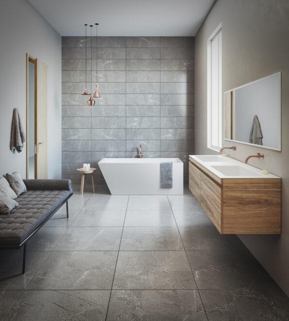 Solid Surface Bath Latis 1600 Omvivo