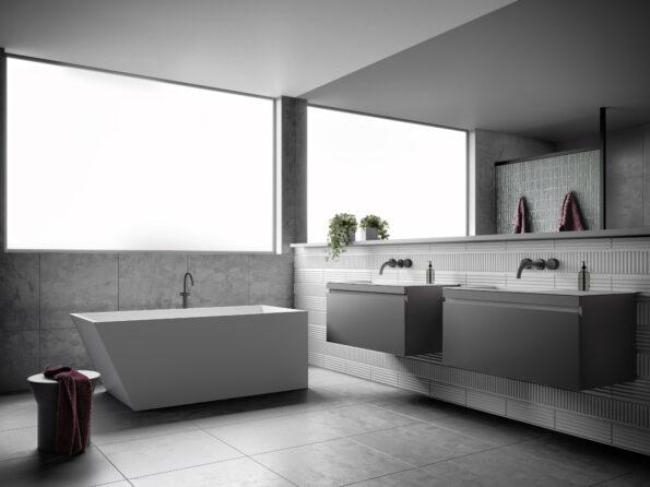 Omvivo Solid Surface Bath Latis 1600