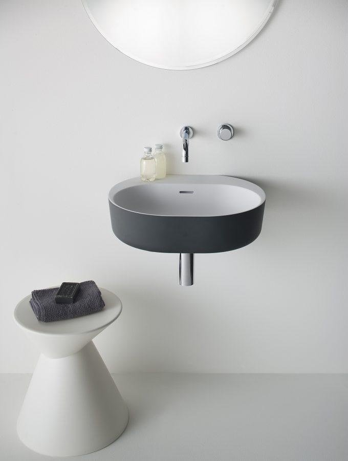 Omvivo Lilli Basin with Charcoal Softskin