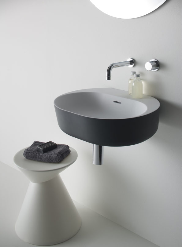 Omvivo Lilli Basin with Charcoal Softskin