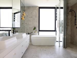 Chambers Street Latis Rectangular Basins and Latis Oval Bath MIM Design