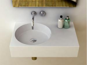 Neo 700 Bathroom Basin Offset Bowl