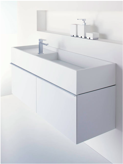 CDesign 1330 Bathroom Basin and Cabinet