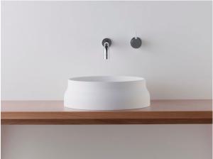 Latis Round Countertop Bathroom Basin