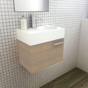Solid Surface Basin Neo Mini