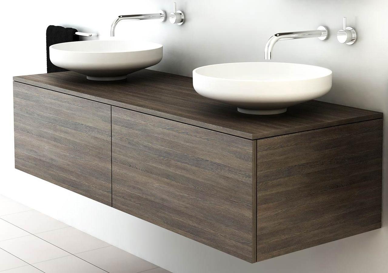 Omvivo Venice 1500 Double Cabinet Bathroom Furniture Amp Vanity Units