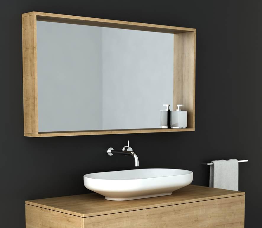 Omvivo Venice Box Frame Mirror Luxury Bathroom Furniture