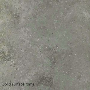 Omvivo Linea Washplane Solid surface Roma Swatch