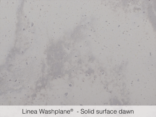 Omvivo Linea Washplane Solid Surface Dawn Swatch