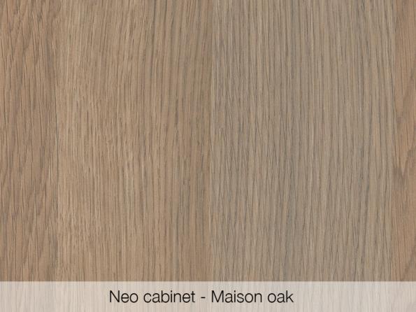 Omvivo Neo Cabinet Maison Oak Swatch