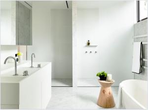 Bathroom Basin by Omvivo Walsh Street by Carr Design Group & Neometro