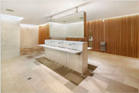 Commercial Bathroom at Eastland Shopping Centre