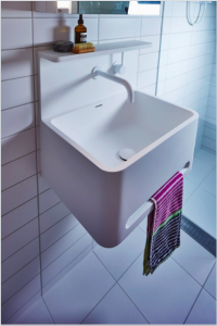Vision Apartments Custom Bathroom Laundry Basin