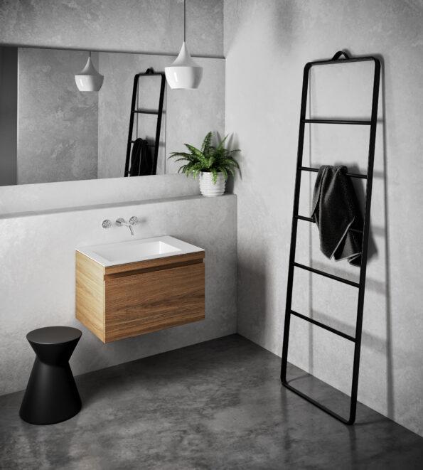La La Stool with Urban 700 MK II Vanity by Omvivo