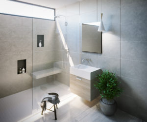 Omvivo Neo 12 Litre Basin with Cabinetry