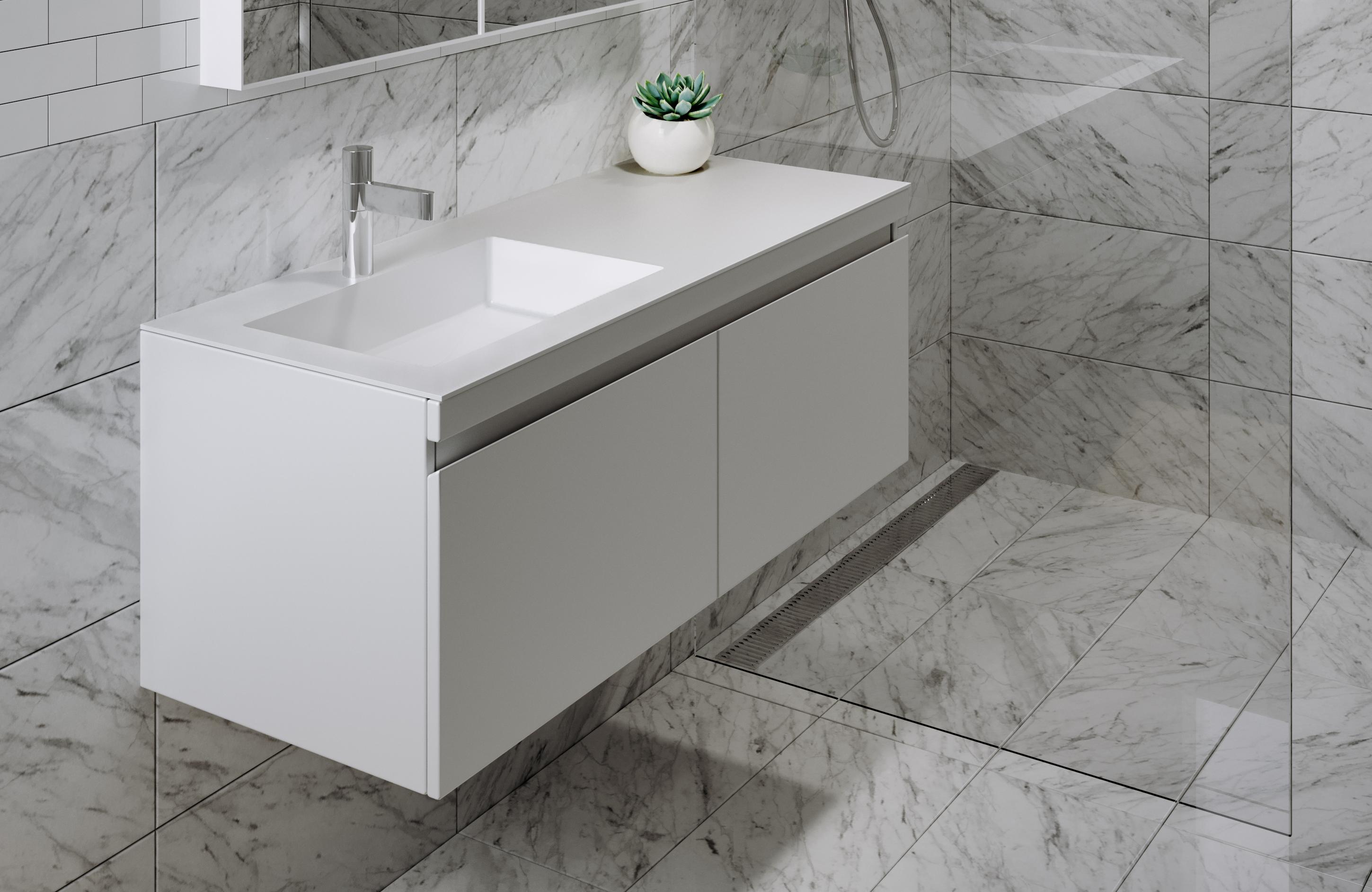 Contemporary Urban Bath Vanity Light: Urban 1200 MK II Vanity