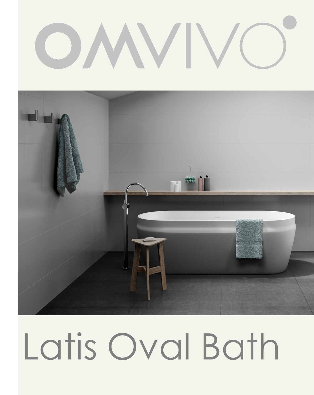 Latis Oval Bath Launch