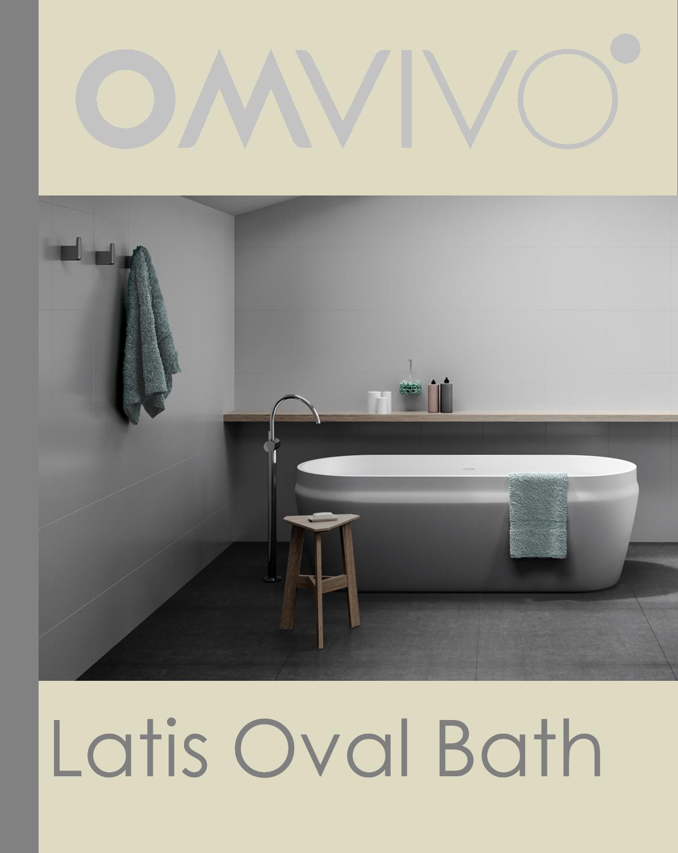Latis Oval Bath Launch