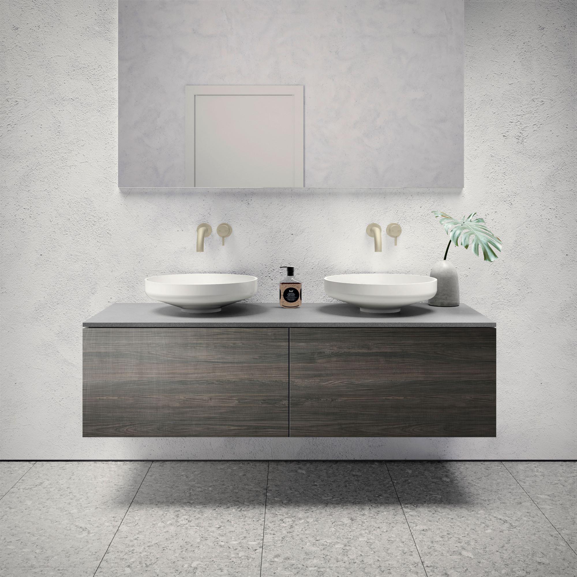 Omvivo   Venice 1500 Double Cabinet   Bathroom Furniture ...